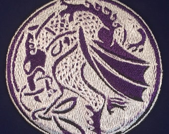 "Celtic Knotwork Dragon - 3.5""x3.5"""