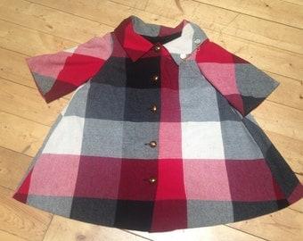 1950's Plaid Swing Jacket