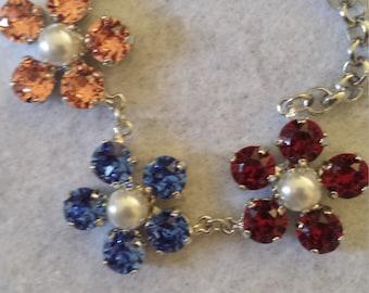 Elizabeth's Flower Garden Necklace