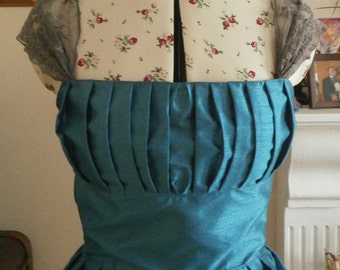 Blue special occasion/Bridesmaid dress - Blue - Size 10