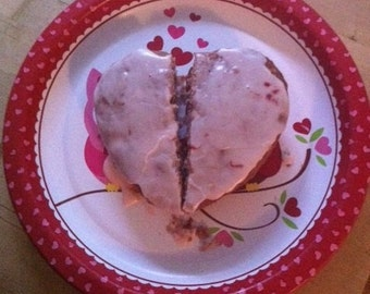 Broken Heart Strawberry Bread