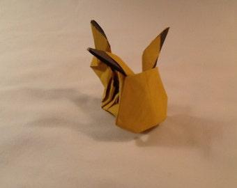 Origami Paper Pikachu Pokemon