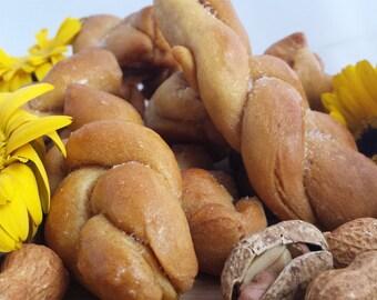 Peanut Butter Twists Organic Dog Treats