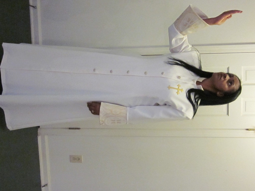 Bulgarian black clergy bride