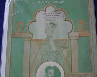 """Sheet Music:  """"In My Harem"""" by Irving Berlin"""
