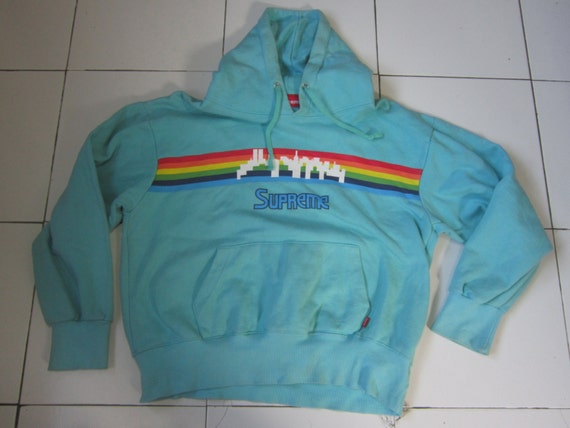 vintage supreme hoodie made in canada supreme by