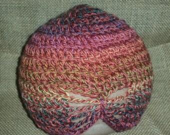 Infant/Toddler Crochet Bow Hat