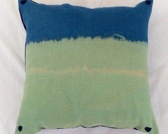 Dip-Dyed pillow (available in all colors from this season)