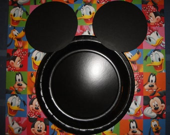 Custom Mickey Mouse Plates