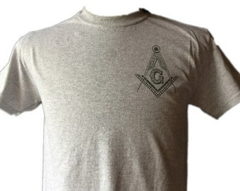 FREEMASON ZP T-SHIRT 6 oz