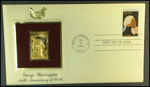Items Similar To First Day Cover 1982 George Washington