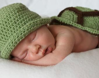 Turtles costume newborn