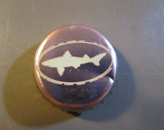 Set of 5 Dogfish Head recycled bottlecap magnets