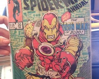 The Amazing SpiderMan Annual Marvel 25th Anniversary 20 1986