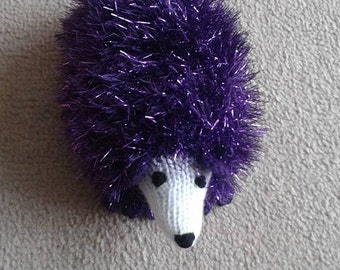 handmade hedgehog
