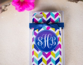 Monogram IPhone Cell Phone Case