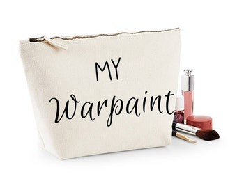 My Warpaint Canvas Make Up Bag