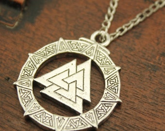Valknut necklace N433A