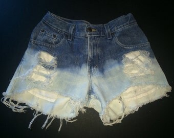 Waist 29-30 High-Waisted Shorts- Item #020