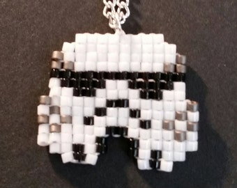 Stormtrooper Helmet Necklace
