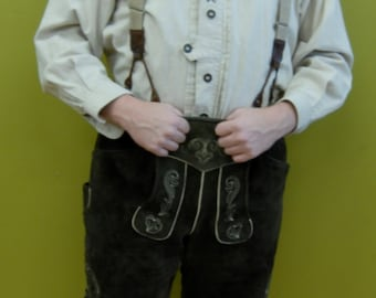 authentic lederhosen outfit from germany
