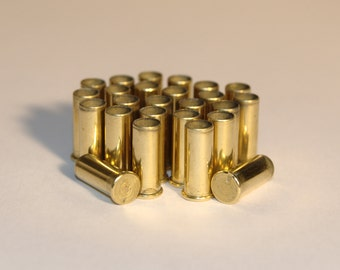 25 x .22 Brass Bullet Casings