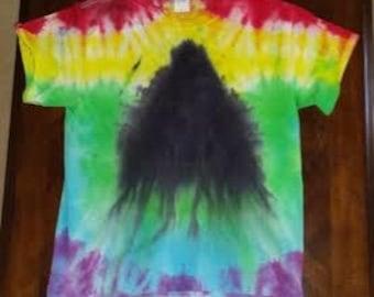 Melting Prism Tie-Dye Shirt