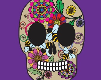 Adult Coloring Books: Sugar Skulls (Volume 1) 50 Designs Dia De Los Muertos Day of the Dead