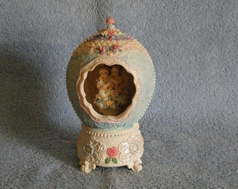 Music Box - Faberge Style - Egg Shaped