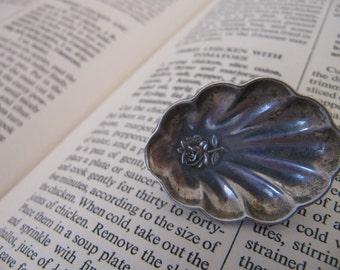 Souvenir spoon brooch