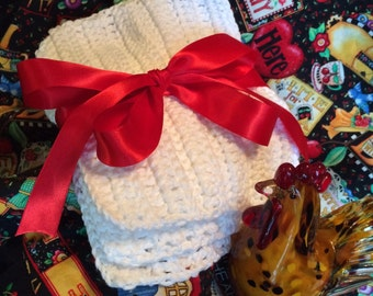 Set of 3 Crochet Dish Cloths