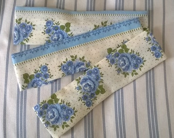 Upcycled vintage fabric hair band