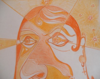 Orange Lady Man - Detail