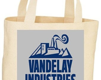 Seinfeld Vandelay Industries custom tote bag