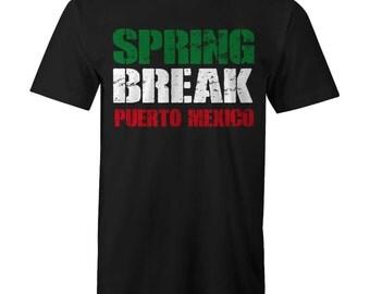 SPRING BREAK Puerto Mexico T-shirt 22 Jump St Street Suns Ou