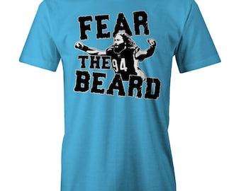 Domata Peko Fear The Beard T-Shirt Funny