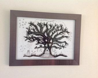 Personalised Wedding Memory Tree