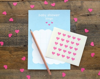 Shower With Love Baby Shower Printed Bingo | 10 Pack | Made In Australia