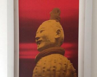 Chinese Terracotta Warrior print