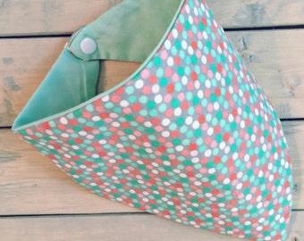 Multicolored Dots Bandana Bib