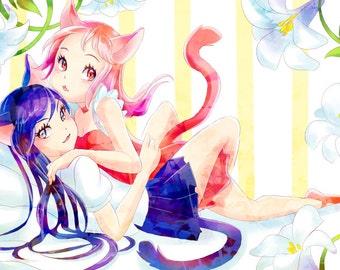 Catgirls Poster