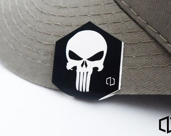 Punisher Hat Clip