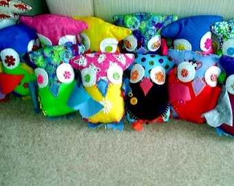 CHARITY Positive Pocket Owl (for UK Eating Disorder charity, Beat)
