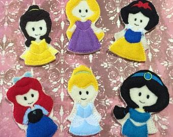 Princess Finger Puppets Set