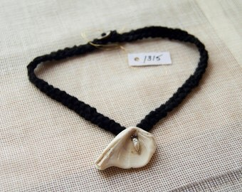 1315 Shell Necklace w/ Pearl