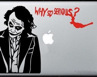 Joker All MacBooks  Vinyl Stickers, Skin, Decal