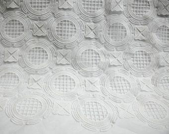 Pure White Classic Guipure lace,Fashion Cloth lace