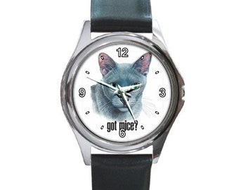Got Mice   Round Metal funny Watch