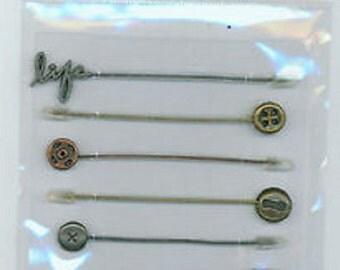 Nostalgiques - Attic Collection - T-Pins