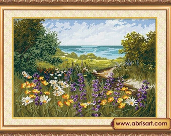 Ukrainian Cross Stitch Kit By Abris Art - GRASSPLOT